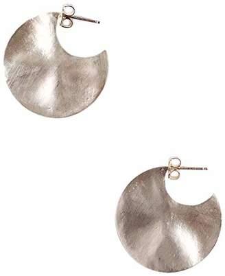 Chan Luu Women's Petite Hammered Earrings
