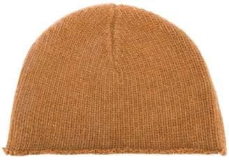 Marni raw hem knitted cap