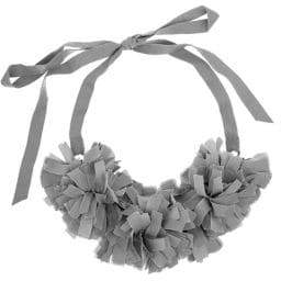 French Connection Pom-Pom Collar Necklace