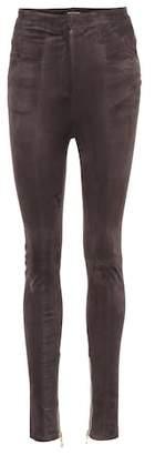 Balmain Suede trousers