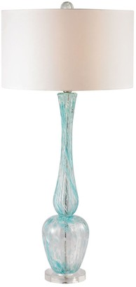 Dimond Curved Glass Table Lamp
