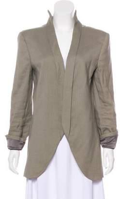 Theyskens' Theory Long Sleeve Open Front Jacket