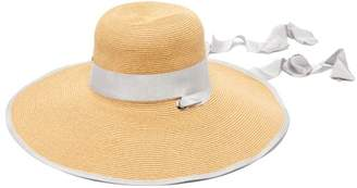 Filù Hats Filu Hats - Arenal Wide Brimmed Straw Hat - Womens - Grey