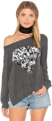 Lauren Moshi Amor Diamond Pullover $145 thestylecure.com