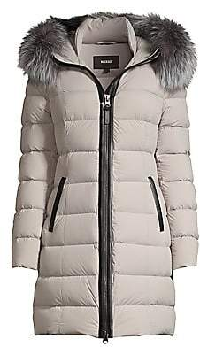 Mackage Women's Calla Fur-Trim Hooded Puffer Coat