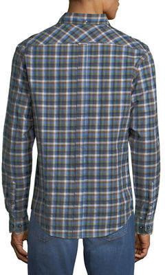 Ben Sherman Multi-Gingham Sport Shirt