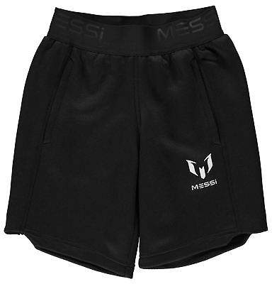 Kids Boys Messi Shorts Junior Football Pants Trousers Bottoms Breathable