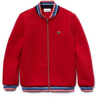 Lacoste (ラコステ) - GIRLS キルティングスウェットシャツ