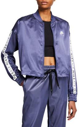 Nike Logo Satin Track Jacket
