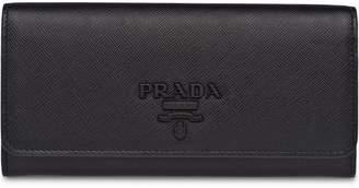 Prada foldover wallet