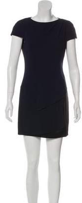 Chanel Silk-Paneled Colorblock Dress