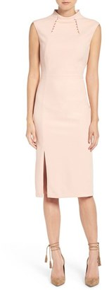 Women's Ivanka Trump Crepe Midi Dress $138 thestylecure.com