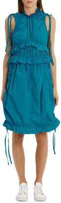 Kenzo Dress With Ruffles/Drawstring F852RO0225AB