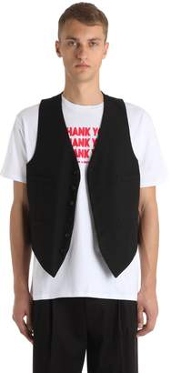 Raf Simons Classic Virgin Wool Vest