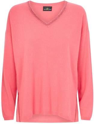 William Sharp Swarovski Crystal-Embellished Cashmere Sweater