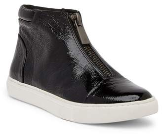 Kenneth Cole New York Kayla Front Zip Patent Leather Sneaker