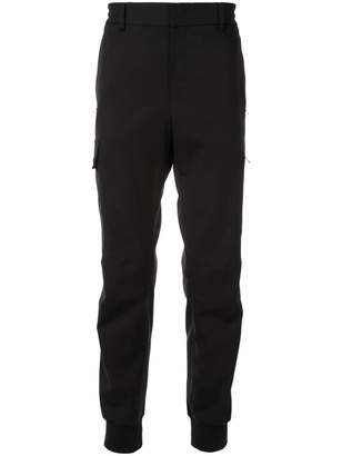 Wooyoungmi cargo pocket track trousers