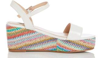 Dorothy Perkins Womens *Quiz Strappy Colourful Wedges
