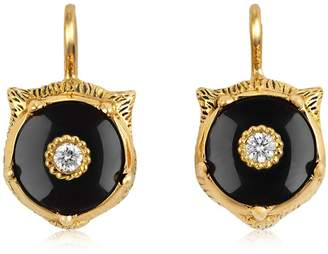 Gucci 18kt Gold Marché Des Merveilles Earrings