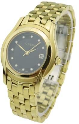 Gucci 5400 Series Gold Plated Quartz