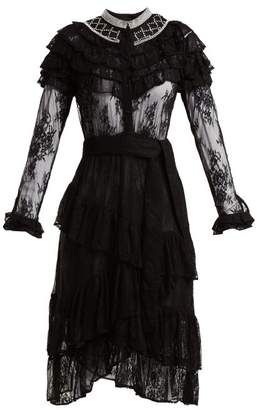 Dodo Bar Or - Monabella Floral Lace Dress - Womens - Black