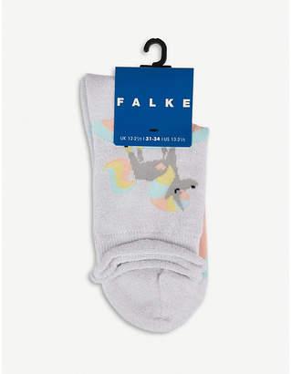 Falke Rainbow unicorn sock