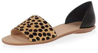 Loeffler Randall Women's Peep Toe D'Orsay Flat