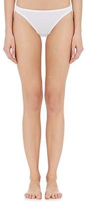 Hanro Women's Cotton Seamless Bikini Briefs - White