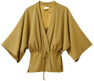 La Redoute COLLECTIONS Lightweight Belted Kimono-Style Jacket with 3/4-Length Sleeves