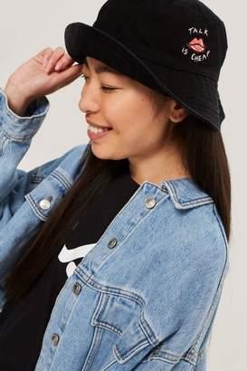 'talk Is Cheap' Bucket Hat