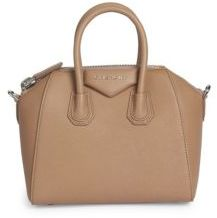 Givenchy Antigona Small Leather Satchel $2,290 thestylecure.com