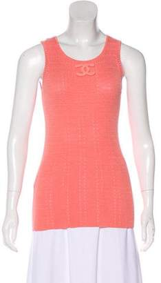 Chanel Interlocking CC Sleeveless Top