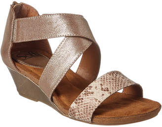 Sofft Kera Leather Wedge Sandal