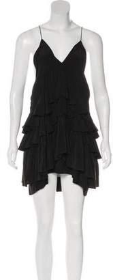 Isabel Marant Silk Sleeveless Mini Dress