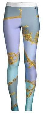 Versace Pastel Eyeshadow Print Leggings