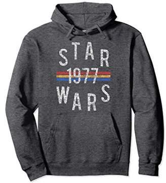 Star Wars Vintage Retro Collegiate Stripes 1977 Hoodie