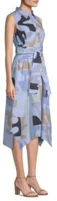 Lafayette 148 New York Cordelia Cotton Shirt Dress
