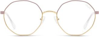 Quay Eclectic 48mm Blue Light Blocking Glasses