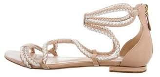 Alexandre Birman Leather Caged Sandals