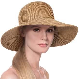 Eric Javits Luxury Fashion Designer Women's Headwear Hat - Hampton