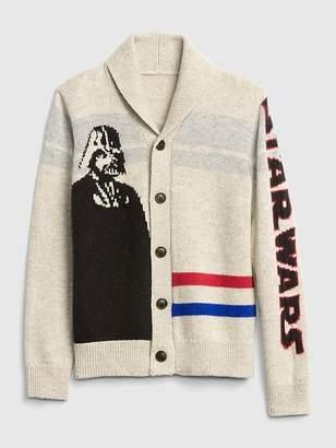 Gap GapKids | Star Wars Shawl Cardigan Sweater