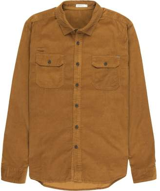 Gramicci Knock On My Door Cord Solid Shirt - Men's