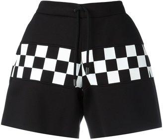 Dsquared2 checkerboard shorts $490 thestylecure.com