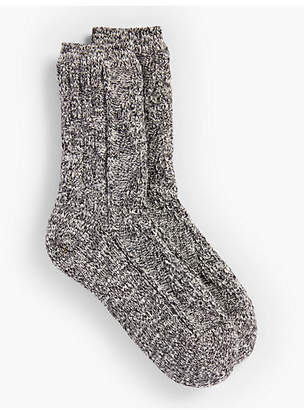 Talbots Marled Winter Socks