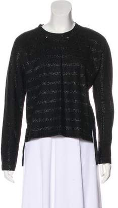Yigal Azrouel Wool-Blend Striped Sweater s