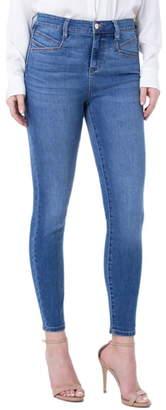 Liverpool Abby High Waist Slant Pocket Ankle Skinny Jeans