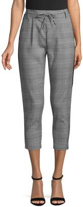 Only Checked Cropped Pants