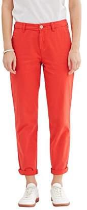 Esprit edc by Women's 047CC1B033 Trousers, (Orange RED 635), 34W x 32L