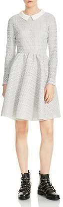 Maje Rayone Lace Dress