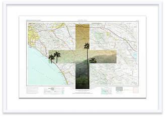 One Kings Lane Santa Ana Map Christine Flynn Maps - White